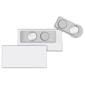 VELOFLEX VELOCARD Magnet-Namensschild - 60 x 30 mm - PVC...