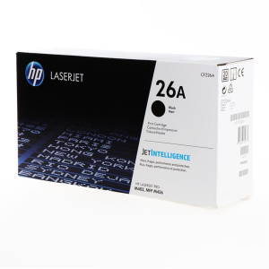 HP 26A Original Lasertoner - black