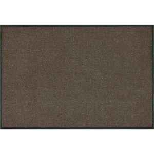 wash+dry Schmutzfangmatte Brown - 60 x 90 cm