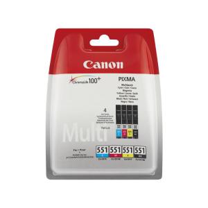 Canon 551C 551M 551Y 551BK Original Tintenpatronen -...