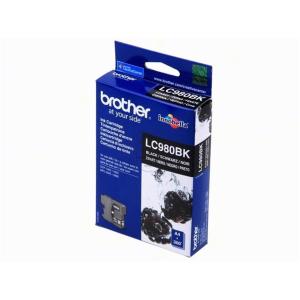 Brother LC980BK Original Druckerpatrone - black
