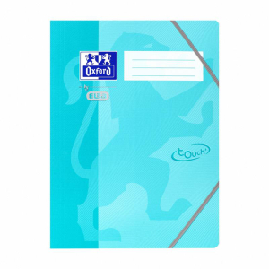 Oxford Eckspannermappe - TOUCH - A4+ aqua