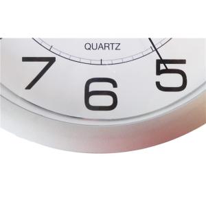 Unilux Uhr ATTRACTION grau mit Batterie