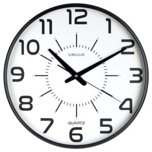 Unilux Uhr MAXI POP ULX BLACK