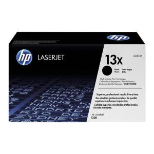 HP 13X Original Lasertoner - black