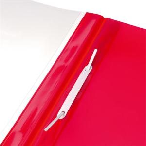 herlitz Schnellhefter - DIN A4 - Combi - PVC - rot