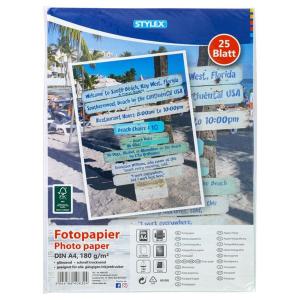 Stylex Fotopapier - DIN A4 - 25 Blatt