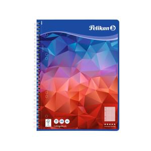 Pelikan Spiralblock - DIN A5 - kariert - 80 Blatt -...
