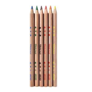 herlitz Dreikantbuntstift Trilino - 5 mm - 6 Farben
