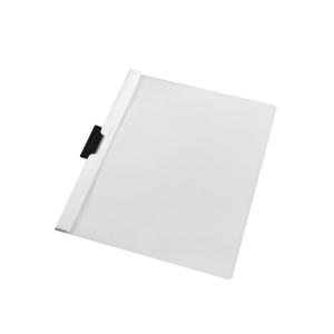 herlitz Klemmhefter - DIN A4 - weiß - PVC - 60 Blatt