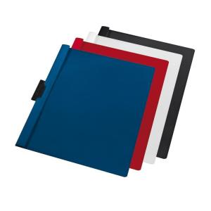 herlitz Klemmhefter - DIN A4 - rot - PVC - 60 Blatt