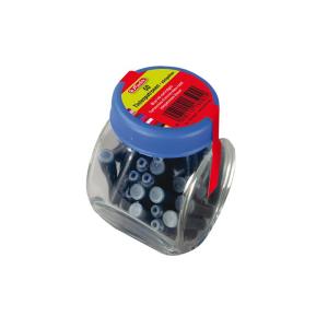 herlitz Tintenpatronen im Glas - blau - 50 Stück