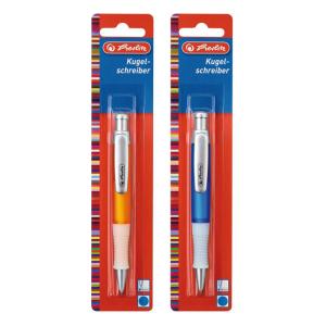 herlitz Kugelschreiber Grip - M - blau