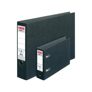 herlitz Ordner max.file - DIN A3 quer - 7,5 cm - schwarz