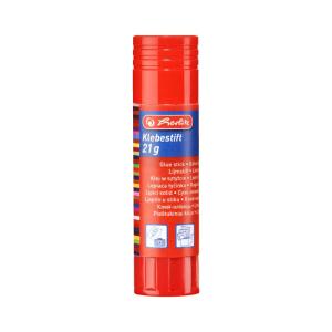 herlitz Klebestift - 21 g - lösungsmittelfrei - farblos