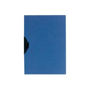 herlitz Bewerbungsmappe - DIN A4 - Express-Clip - blau