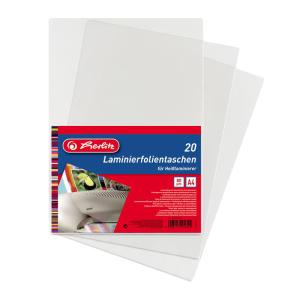 herlitz Laminierfolientasche - DIN A4 - für...