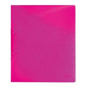 herlitz Ringbuch - DIN A4 - 3 cm - transluzent himbeer
