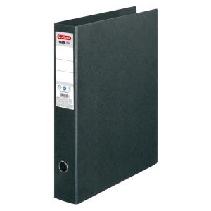 herlitz Ordner max.file - DIN A3 hoch - 7,5 cm - schwarz