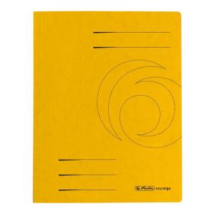 herlitz Schnellhefter - DIN A4 - Quality-Karton - gelb