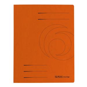 herlitz Schnellhefter - DIN A4 - Quality-Karton - orange