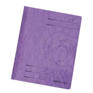 herlitz Schnellhefter - DIN A4 - Quality-Karton - violett
