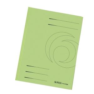 herlitz Einschlagmappe - DIN A4 - Karton - hellgrün...