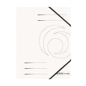 herlitz Eckspanner Quality - DIN A4 - weiß