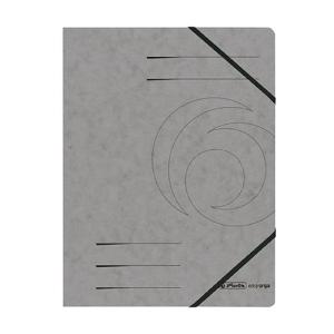 herlitz Eckspanner Quality - DIN A4 - dunkelgrau