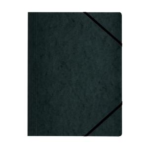 herlitz Eckspanner Quality - DIN A4 - schwarz