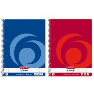 herlitz Spiralblock - DIN A4 - liniert - Lineatur 27 -...