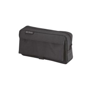 herlitz Faulenzer mit 2 Außentaschen - schwarz