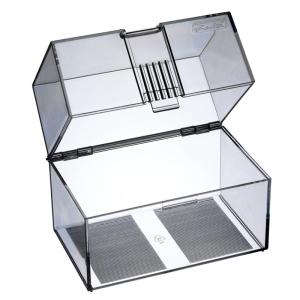 herlitz Karteikasten - DIN A7 - transparent - bis 300...