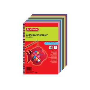 herlitz Transparentpapier - 20 x 30 cm - farbig - 10 Blatt