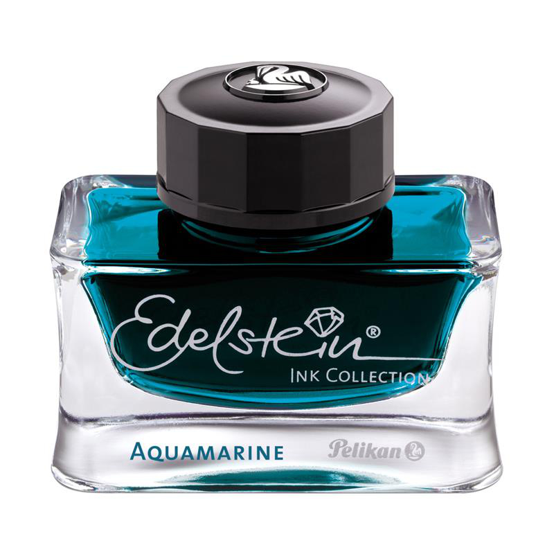 Pelikan Tinte aquamarine 50ml Edelstein Ink Collection