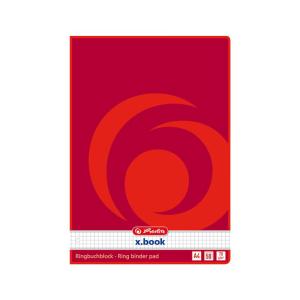 herlitz Ringbuchblock - 70 g/m² - DIN A4 - kariert -...