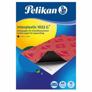 Pelikan Interplastic Kohlepapier - DIN A4  - 10 Blatt