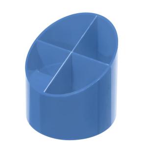 herlitz Köcher - rund - baltic blue - 4 Fächer
