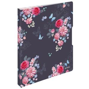 herlitz Ringbuch - DIN A4 - 2,7 cm - Ladylike Flowers