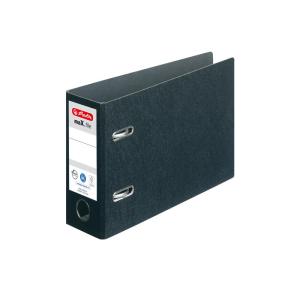 herlitz maX.file Ordner - DIN A5 quer - 7,5 cm - schwarz