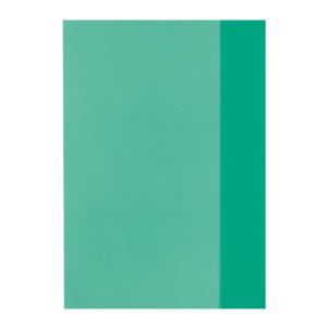 herlitz Hefthülle - DIN A5 - transparent - grün