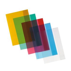herlitz Hefthülle - DIN A5 - transparent - farblos