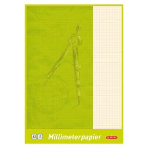 herlitz Millimeterblock - DIN A3 - 20 Blatt