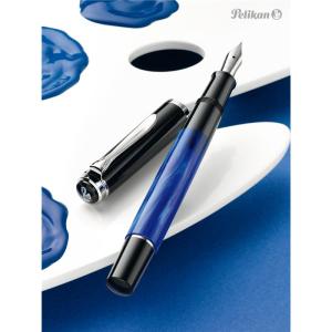 Pelikan Classic M205 Kolbenfüllhalter - blau...
