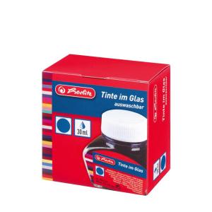herlitz Tinte im Glas - 30 ml - königsblau