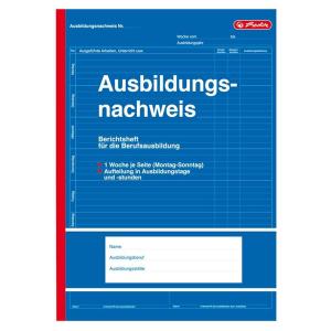 herlitz Berichtsheft Ausbildungsnachweis - DIN A4 - 28 Blatt