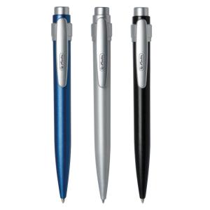 herlitz Kugelschreiber Steel - 1 mm - Schreibfarbe blau