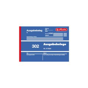 herlitz Ausgabebeleg 302 - DIN A6 - 50 Blatt