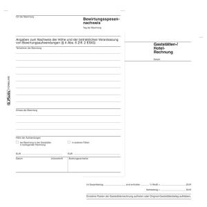 herlitz Bewirtungsspesennachweis 701 - DIN A5 - 50 Blatt