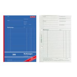 herlitz Rechnungsbuch 306 - DIN A4 -...